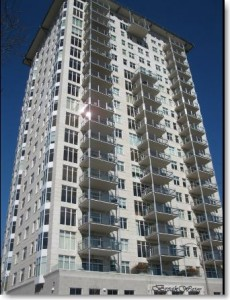 Breakwater Condos, Milwaukee Wisconsin; CD Smith project, precast and interior caulking by Sids Sealants