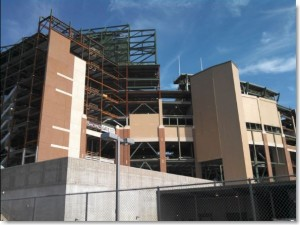 Lambeau Field, Miron project, precast caulking and interior caulking by Sid's Sealants.