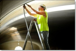 Tunnel caulking and waterproofing by Sid's Sealants