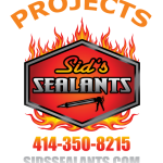 Sids Sealants Projects call 414-350-8215