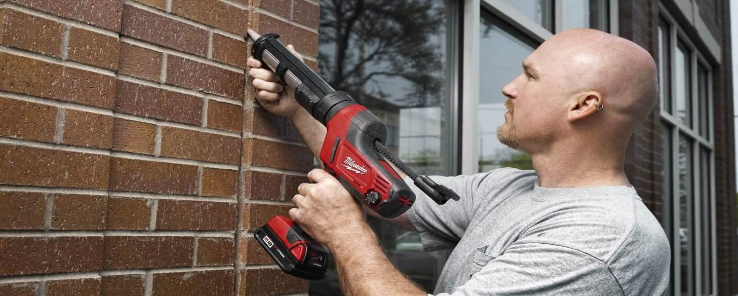 """We'll Shoot It Where You Want It!  Sid's Sealants LLC your """"go-to"""" caulking, spray foam, air barrier and waterproofing contractor."""